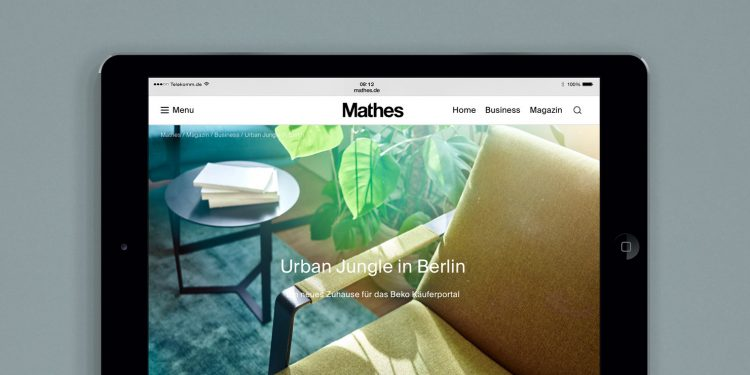 Mathes News Digitales Zuhause